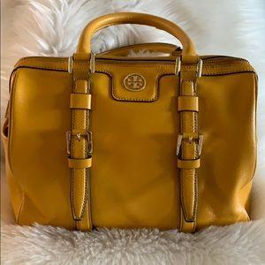 Tory Burch mustard purse